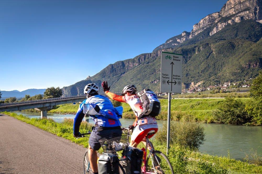Sommerliche Bergtouren rund um Andrian