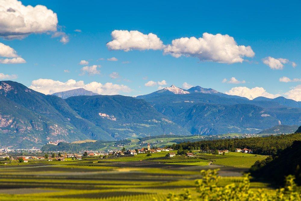 Urlaub in Andrian/ Etschtal – Südtirols Süden