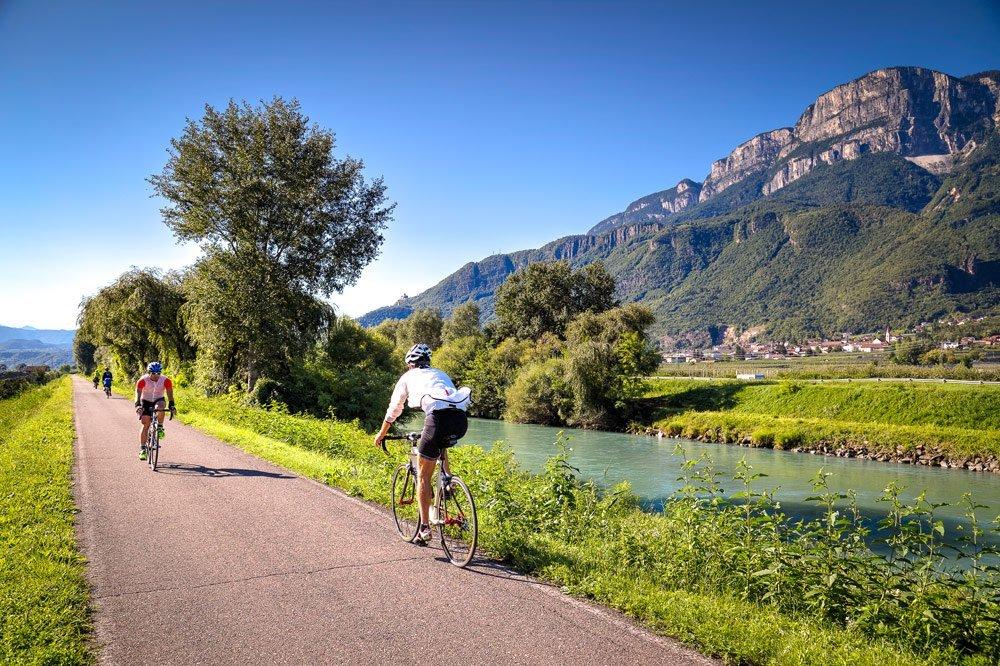 Südtirol auf zwei Rädern: Radurlaub im wunderschönen Etschtal